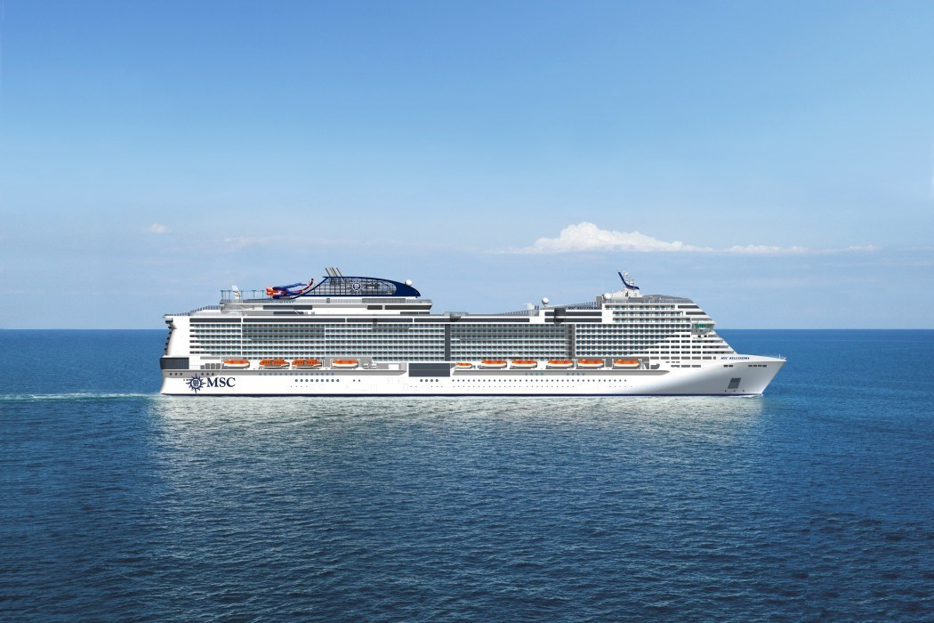 MSC Grandiosa Cruise Ship 2020 / 2021